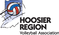 Hoosier Volleyball Retina Logo